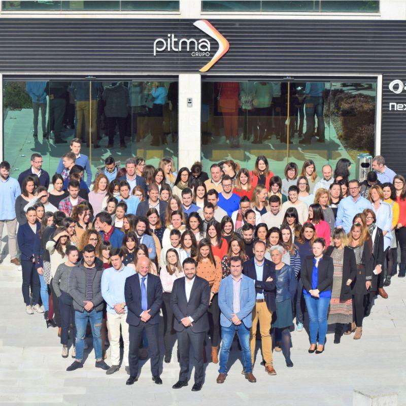 Equipo servicios centrales grupo PITMA