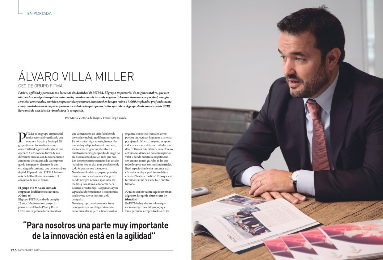 Entrevista a Álvaro Villa Miller en Ejecutivos