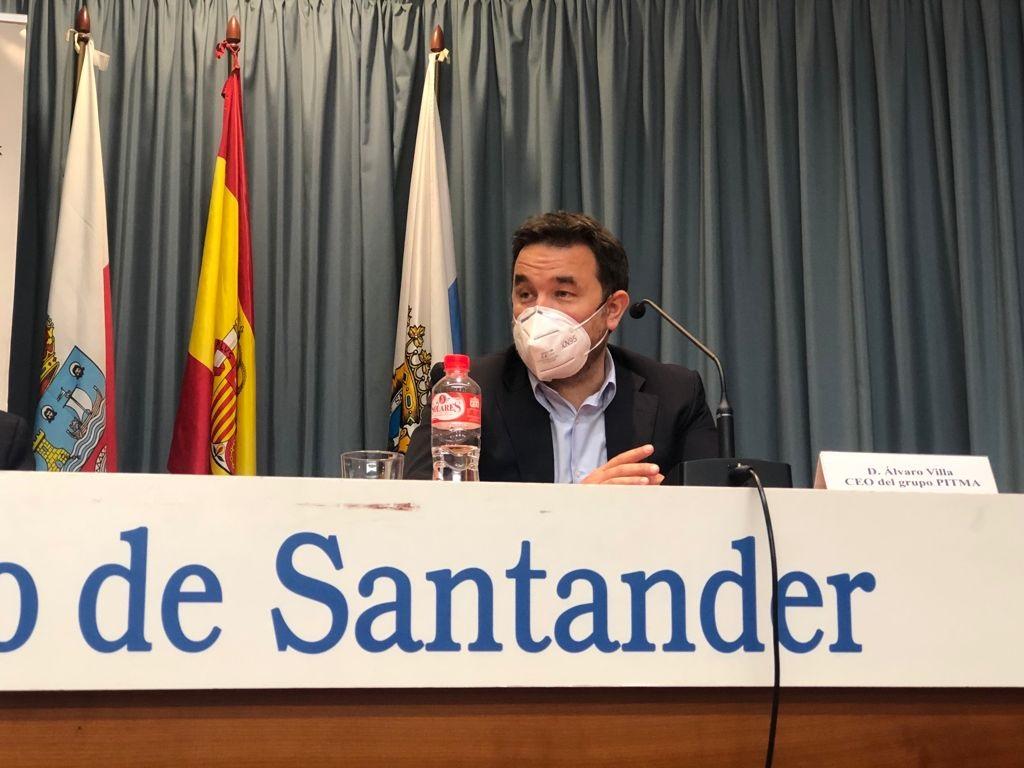 Álvaro Villa Miller durante su intervención
