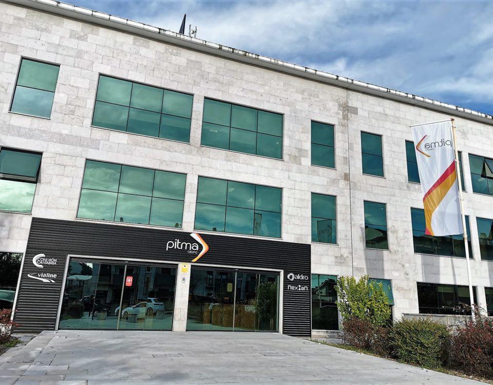 Edificio PITMA, sede central del grupo en Cantabria
