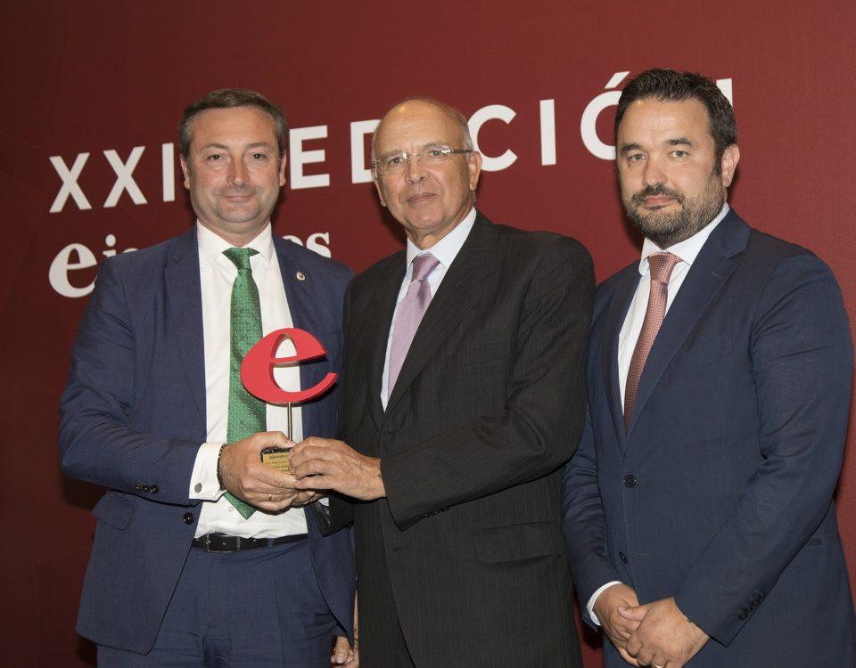 Alfredo Pérez y Álvaro Villa recogen el premio Ejecutivos a la Trayectoria Empresarial