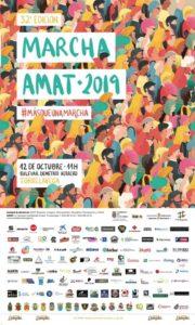 Cartel marcha AMAT 2019