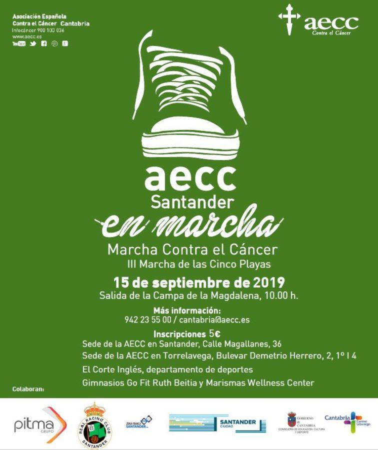 Marcha solidaria AECC Santander