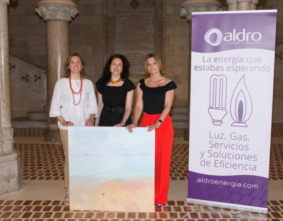 Presentación de los V Encuentros Culturales, con Claudia Iza