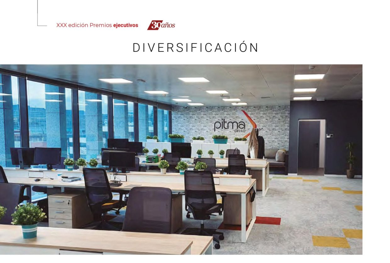 Ejecutivos otorga a PITMA el Premio a la Diversificación